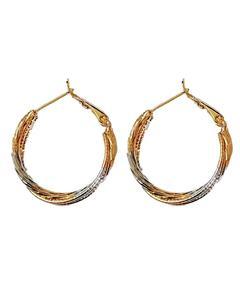 Artificial Gold Plated Women Earrings