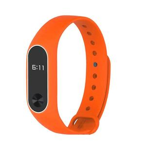 Silicone Wrist Band Strap WristBand Durable Replacement For Xiaomi MI Band 2