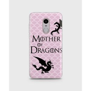 Xiaomi Redmi Note 4 Soft Cover in Mother of Dragons Design -1cover19