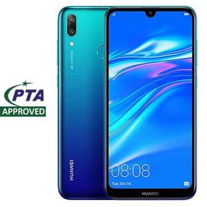 Huawei Y7 Prime (2019) - 4,000 mAh - 3GB RAM - 32 GB Storage - Gradient Aurora Blue - 16MP Front Camera - Rear Camera: 13 MP + 2 MP (f/1.8) AI - 6.26-inch