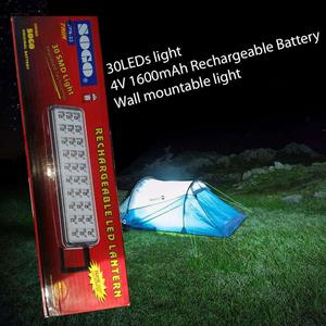 30LEDs light 4V 1600mAH Rechargeable Battery Wall mountable light JPN-33(SOGO)