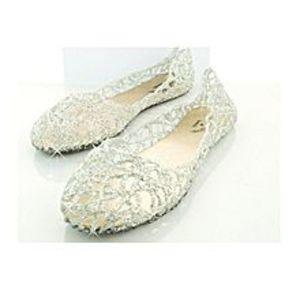 Charji ShopSilver Casual Jelly Tennis Fashion Sandals