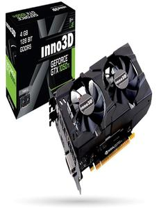 Inno3D GTX 1050Ti  X2 - Graphic Card - 4 GB - DDR5 - GeForce