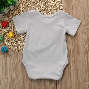 Perfect Meet new authentic warm Korean version of handsome Newborn Kids Baby Boy Girl Clothes Letter Football Print Romper Jumpsuit Pajamas