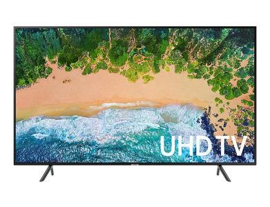 Samsung-55NU7100 - 55 Inch 4Ksmart- LED Tv - Black