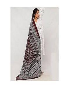 Multicolor Ajrak Cotton Shawl For Women