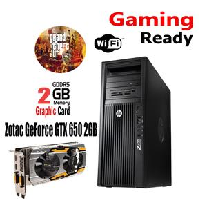 HP Z420 Gaming PC 8 Core  E5-1650 8GB RAM 1TB Hard Drive WITH 4GB DDRR5  Graphics Card- Windows 10 Pro