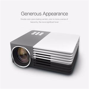 GM50 Mini Projector For Video Games TV Beamer Digital HD Project Home Theatre Movie Support 1080P HDMI VGA AV SD