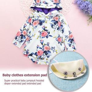 P&L Cute Baby Romper Extend Pad Kids Boys Girls Jumpsuit Lengthen Diaper Mat