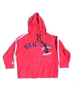 Soccer World Printed Fleece Zipper Hoodie