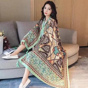 Stylish Imported Pashmina Shawl For Women- Multicolor