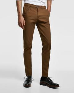 Chocolate Brown Slim Fit Chino Pant For Men