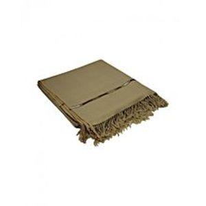 DesiBazaarBrown Wool Handmade Shawl for Men