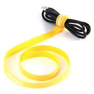 Tronsmart 1M Plastic Nylon Colorful Universal Velcro Cable Tie for Organising Cables and Wires