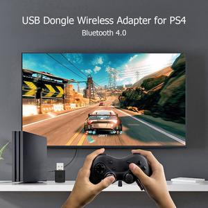 Meeting Love 3.5mm Bluetooth 4.0 Dongle USB Adapter Receiver for PS4 Controller Gamepad