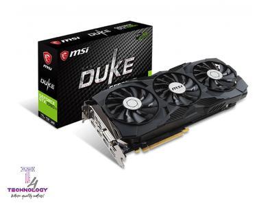 MSI GEFORCE®  GTX 1080 DUKE 8G OC