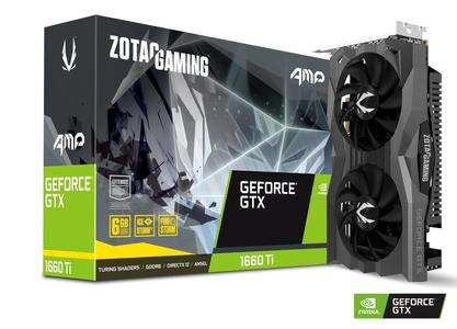 ZOTAC GAMING GeForce GTX 1660 Ti AMP! 6GB GDDR6 Graphics Card