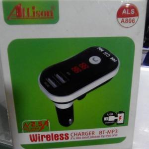 Car Wireless Charger Mp3