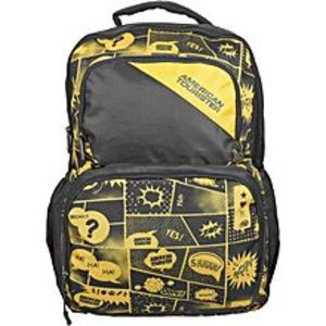 American Tourister Pack of 2 - At Doodle III Backpack + Pencil Case - Grey