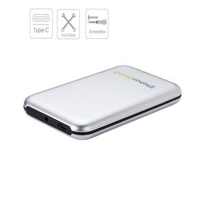 USB3.1 Type-C Hard Drive Enclosure for 2.5 Inch SATA HDD and SSD