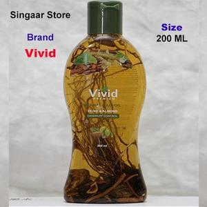 Vivid Premium Herbal Hair Oil Olive and Almond