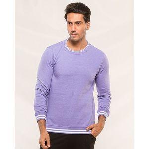 Styleo Purple Sweat shirt for men