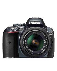 Nikon D5300 - DSLR Camera - 24.2MP - 18-55VR - Black