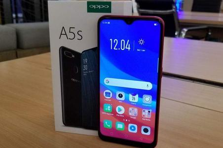 A5S Oppo mobile 3 Gb With 32 Gb Internal