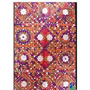 MerkaKraftTraditional Wall Hanging - Squares DesignHand Made-Multi Color