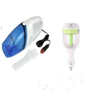 Pack of 2 - Car Vacuum Cleaner & Car Air Humidifier