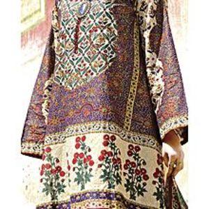 AlmirahPurple LAWN 3pcs Unstitched Suit for Women
