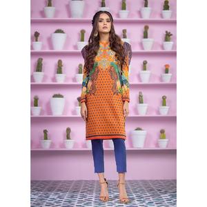Alkaram studio Spring Summer Collection 2020 Vol I Mustard Lawn 2 Piece Suit For Women -A132225662