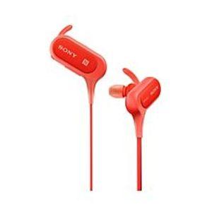 SonyIn-Ear Bluetooth Headphones Mdr-Xb50Bs- Red