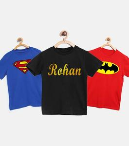 The Shop - Pack Of 3 - Super Hero Printed T-Shirt For Kids