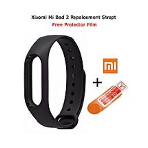 Universal Mi Band 2 Replacement Strap with Free Protector Film