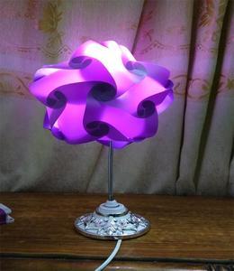 Thai Star shape Table Lamp - Purple
