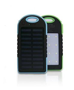 It Really Works - 30,000 Mah Dual Ports Fast Solar Power Bank Portable With Bright Led Torch Lights