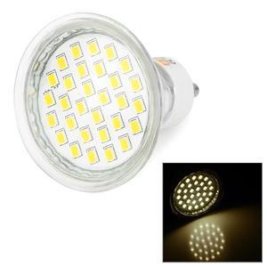 LeXing Lighting GU10 140lm SMD 2835 Warm White Lamp (220~240V)