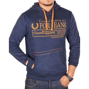 Sports Hub For Jeans - Kangroo Hoody - Dark Blue