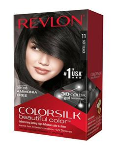 Color Silk 3D Technology USA For Men and Women No 11 Soft Black