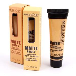 MISS ROSE Face Matte Concealer Liquid Foundation BEIGE 02