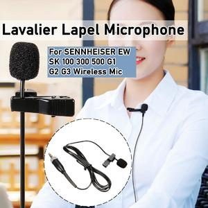 Loveliness 【 Flash Deal】Lavalier Lapel Microphone For SENNHEISER EW SK 100 300 500 G1 G2 G3 Wireless  Wireless lavalier microphoneMic