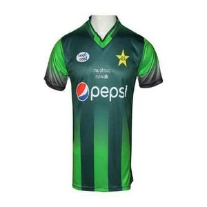 Pakistan Cricket Team New Shirt 2018 Full Sleaves