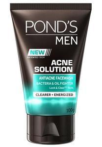 Men Facial Wash Acne Solution 100 ML