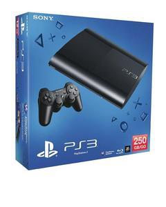 Sony PlayStation 3 Ultra Slim - 250 GB - Black