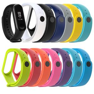 Replacement Silicone Wristband For Xiaomi MI Band 3 Smart Bracelet Wristband Accessories