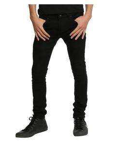 Black Denim Slimfit Jeans For Men