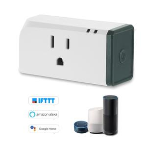 Sonoff S31 Plug Home Smart Socket Power Consumption Measure Monitor System Mini Outlet APP/Voice Control for Google Home for Amazon Alexa IFTTT (1 Pack)