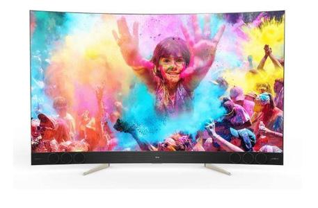 Curved 4K Led TV with Remote