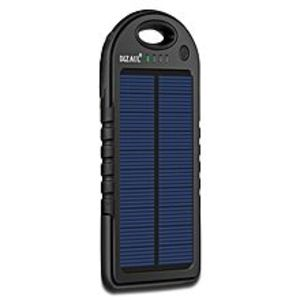 DIZAULSolar Charger, 5000Mah Portable Solar Power Bank